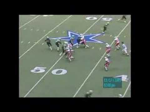 Greg McElroy TD Pass to Corbin Smiter in state ttile game