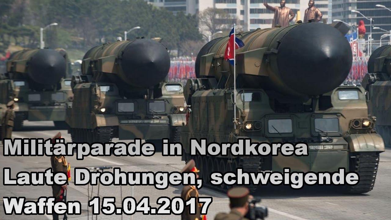 Militärparade in Nordkorea Laute Drohungen, schweigende ...