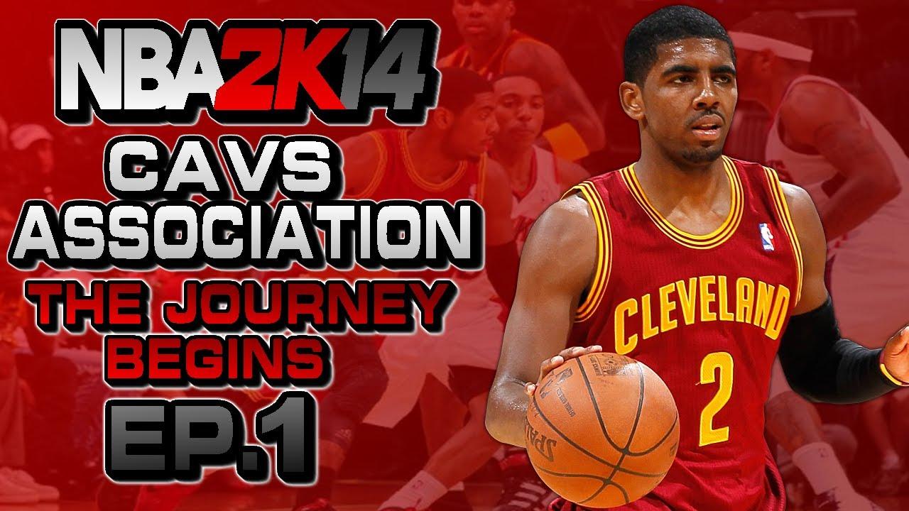 huge discount 85339 8755c NBA 2K14 Association Ep.1: Cleveland Cavaliers ft. Kyrie Irving | Big  Trade? | The Journey Begins