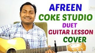 Afreen | Duet | Coke Studio | Easy Guitar Lesson | Cover | Mayoor