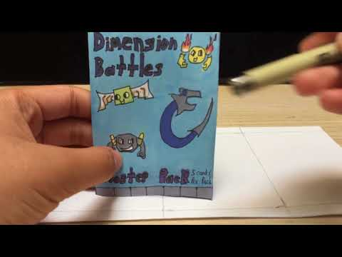 How to Make a Homemade tcg Booster Pack