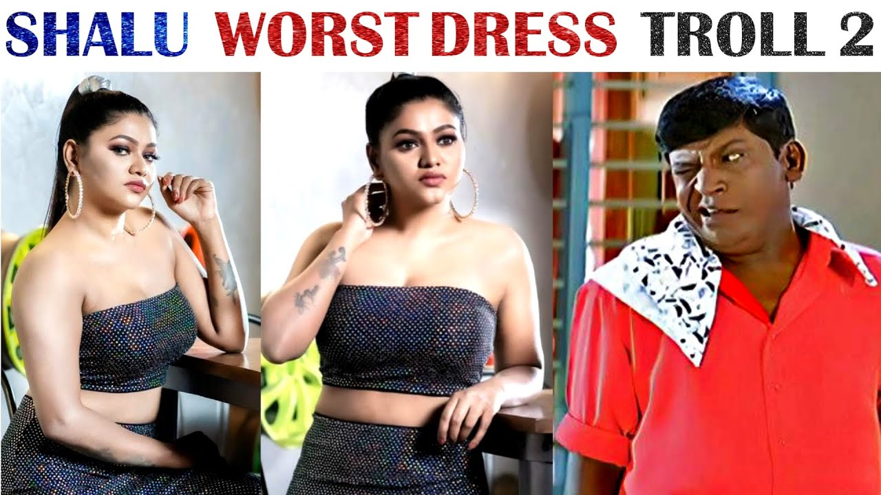 Shalu Shamu Worst Dressing Troll - Part 2 | Photoshoot | Social Media | Tamil | Rakesh & Jeni 2.0