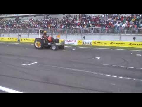 Happy Mahla Stunt at JK tyres Delhi