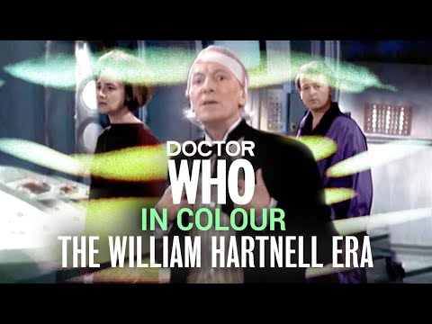 Dr Who - The William Hartnell Era in Colour