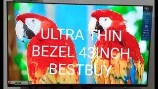 MarQ (43) Full HD LED Smart Android TV Ultra Thin Bezel detail review and sound test