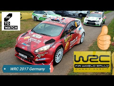 WRC ADAC GERMANY 2017 RAW FOOTAGE HIGHLIGHT COMPILATION WRC