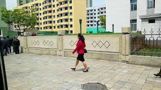 Улицы Пхеньяна. Как живут люди в Северной Корее.