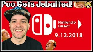 We React To The Nintendo Direct On 9-13-18