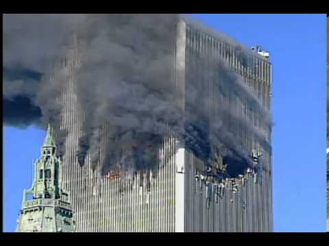 911~World Trade Center Explosion before UA Flight-175 Impacts Tower 2