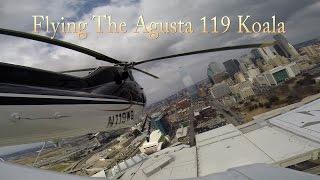 Flying The Agusta 119 Koala