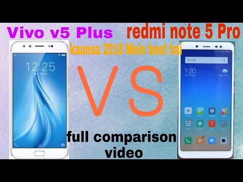 Xiaomi🔥Redmi note 5 Pro vs vivo v5 plus full comparison