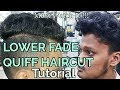 Lower Fade Quiff Haircut On Rough And Frizzy Hair || Haircut Tutorial For Summer
