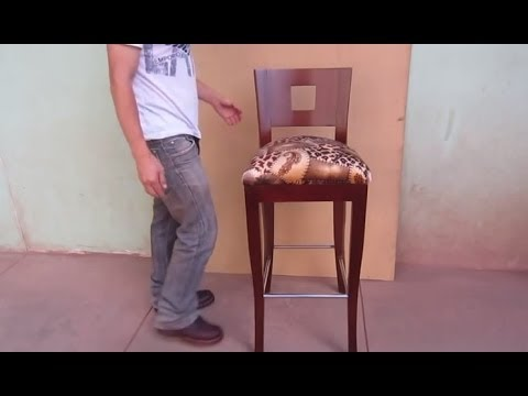 Resumen de como fabricar una silla de madera tapizado for Como hacer sillas de madera para comedor