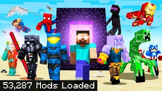 I installed every Minecraft mod ever made