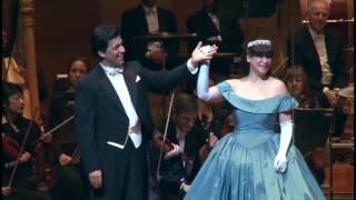 """""""Lippen schweigen"""" - Die Lustige Witwe (F. Lehar): Mehrzad Montazeri (Tenor), N. Ushakova (Sopran)"""