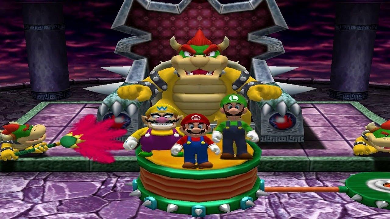 Download Mario Party 4 MiniGames - Mario Vs Luigi Vs Wario