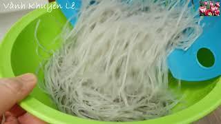 MIẾN XÀO THỊT BẰM - Cách xào Miến tơi rời mềm dai ngon bổ rẻ nhanh gọn cho bữa sáng by Vanh Khuyen