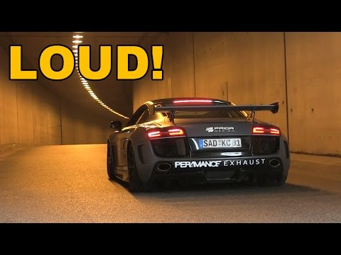 INSANE TUNNEL ACCELERATIONS! | Cars and Coffee Düsseldorf 2016