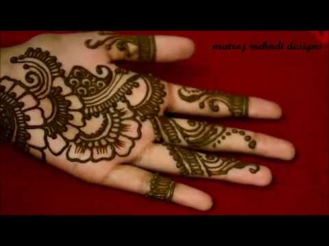 Mehandi Designs Easy And Simple For Kids