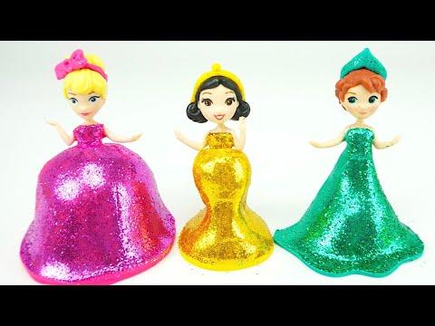 Поделки из пластилина. Учимся лепить платья принцесс, мороженое и торты