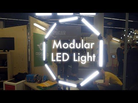 Modular LED Light: Spekular From Spiffy Gear First Lok From Photokina 2018