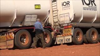 How to unbog a Road train
