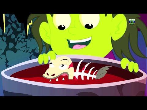 Ведьма суп | страшные детские песни | Хэллоуин песни | Scary Rhymes | Halloween Songs | Witch Soup