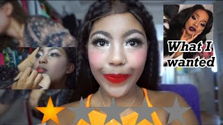 I WENT TO THE WORST REVIEWED MAKEUP ARTIST IN CITY , CHINA | BLACK GIRL GETS MAKEUP DONE BY CHINESE