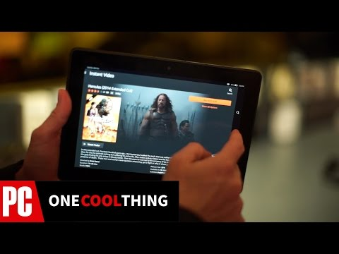 Amazon Fire HDX 8.9 - One Cool Thing