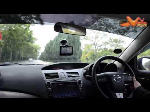 WayWay Q4035 GPS - Navigate To Your Destination Via Voice Command