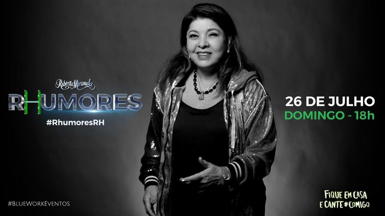 ROBERTA MIRANDA LIVE | #RhumoresRM | #FiqueEmCasa #CanteComigo
