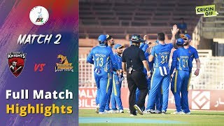 APL 2018 M2: Kandahar Knights v Nangarhar Leopards Full highlights - Afghanistan Premier League