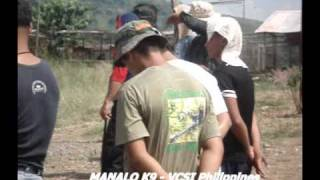 Manalo K9 Technologies International K9 Handler Screening & Training (vintage Video)