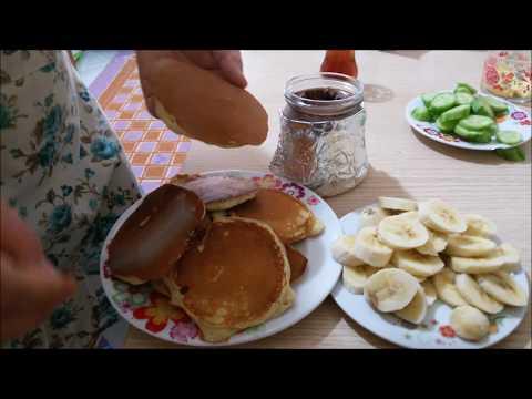 Kahvaltılık Pancake (pankek) Tarifi, Nasıl Yapılır? - YouTube