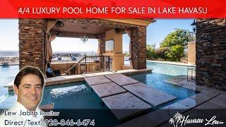 Lake Havasu Luxury Pool Home at 2830 Swanee Ln