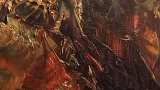 Абстракция в современной живописи маслом.