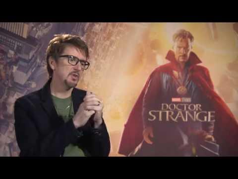 DOCTOR STRANGE BENEDICT CUMBERBATCH, TILDA SWINTON & SCOTT DERRICKSON INTERVIEW 2016 MARVEL MOVIE