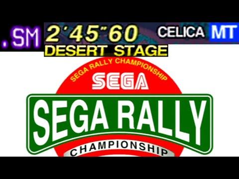SEGA Rally - Easy Course (Desert) (2'45