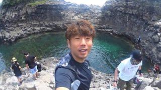제주도에 천연 바다 수영장이?(Natural sea pool in Jeju island?)