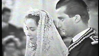 Huwelijk Albert en Paola 2 juli 1959