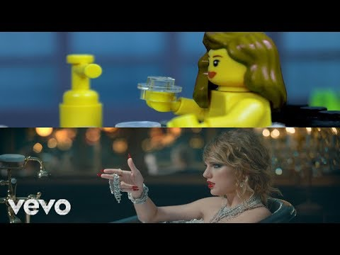 LEGO Taylor Swift - Look What You Made Me Do (Comparison)