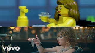 Lego Taylor Swift Look What You Made Me Do Comparison