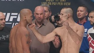 Robbie Lawler vs. Rory MacDonald weigh-in