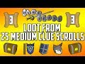 [2007] RuneScape - Loot from 25 Medium Clue Scrolls #3