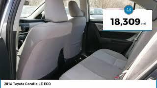 2016 Toyota Corolla LE ECO Maplewood, St Paul, Minneapolis, Brooklyn Park, MN P17964