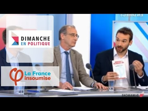 Ugo Bernalicis - France Insoumise - Dimanche en Politique - France 3 - Mai 2017