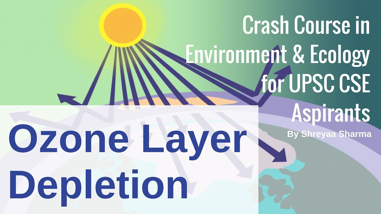 Ozone Layer Depletion Environment Ecology For Upsc Cse By