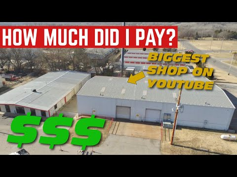 How Much I PAID For The BIGGEST Automotive Shop On YouTube
