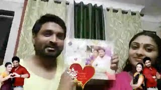 Vijay Tv Serial Actress Sreeja ❤ Senthil Funny Valentine's day Live Video | Saravanan ❤ Meenakshi |