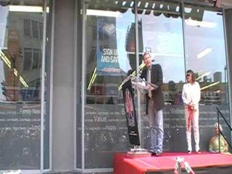 Brian Keith Star Ceremony, pt 3